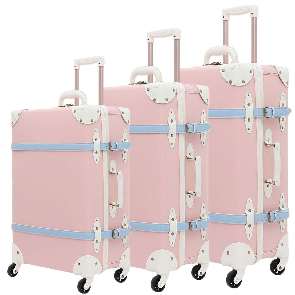 Luggage Set Suitcase Trolley Case Luggage With Wheels TSA Lock Student Large Suitcase 28 Inch PU Leather Large Capacity 3pcs