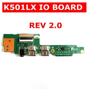 K501LX IO_board REV2.0 for ASUS K501 K501L A501L K501LB K501U A501L K501UW Laptop Audio USB 2.0 IO Board Interface Board JACK(China)
