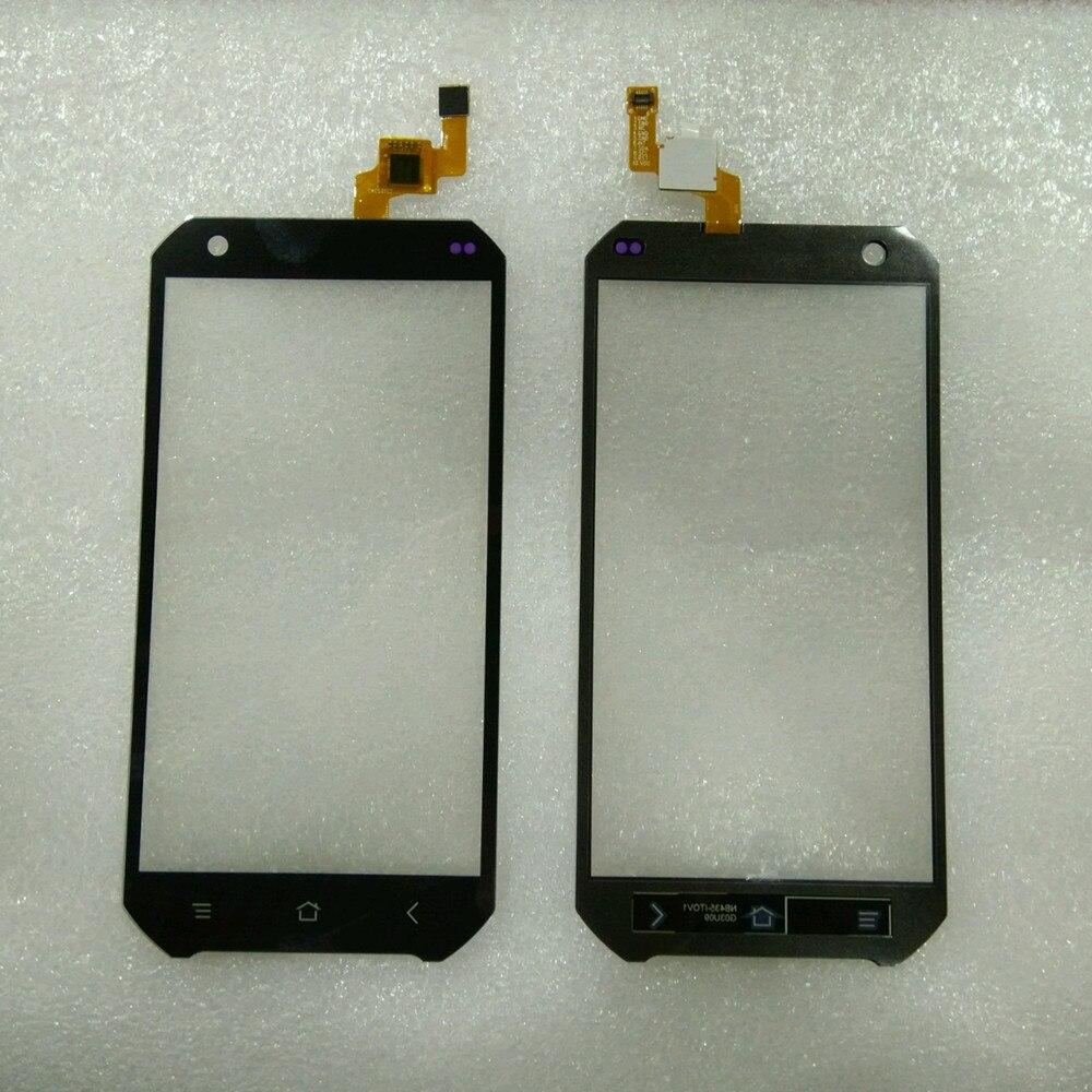 imágenes para 100% Pieza De Recambio Original de 4.5 pulgadas de Pantalla Táctil de Cristal Para Guophone V19 Smartphone