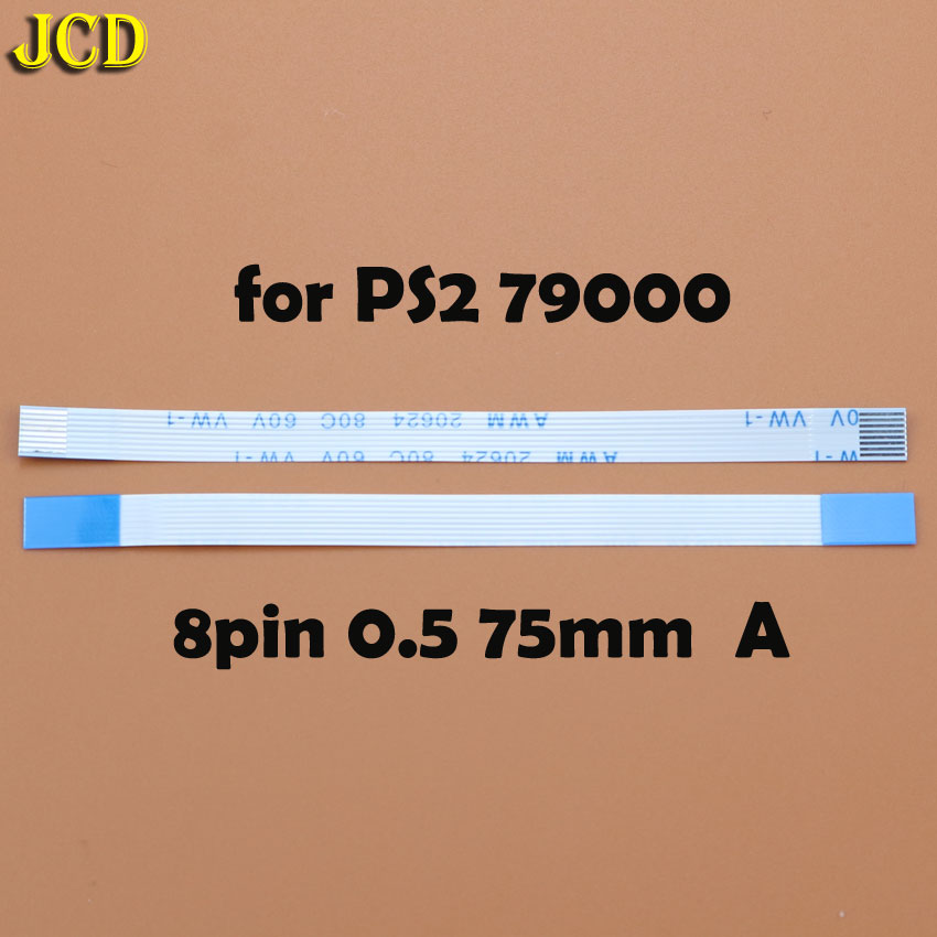 Image 5 - JCD 2pcs 7pin 8pin 12pin Ribbon Flex Cable for Sony playstation 2 PS2 Controller Charging PCB Board and Power switch Flex Cable-in Replacement Parts & Accessories from Consumer Electronics