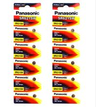 200pcs/lot New Original Battery For Panasonic SR621SW Silver Oxide AG1 364 164 D364 L621 GP364 Button Cell Coin Watch Batteries
