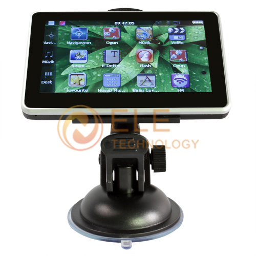 car gps navigator 4.3'' GPS 4GB memory FM mp3/mp4 touch screen free shipping