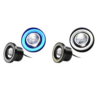 A Pair Set 64mm 76mm 89mm 30W LED COB Angel Eyes Daytime Running Light Car Vehicle