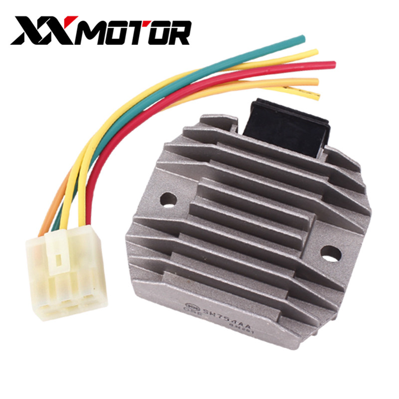 12V Rectifier Voltage Regulator Charger Silicon For Yamaha XV250 XV125 XV 250 125 Virago Motorcycle Accessories