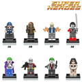 1PC Suicide Squad Joker Enchantress Harley Quinn Killer Croc Deadshot Building Blocks Superheroes diy figures Kids Toys