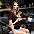 2016 Confortável Baby Sling Elástico Wrap Carrier Hipseat Bebê Mochila Cor Sólida Algodão Elástico