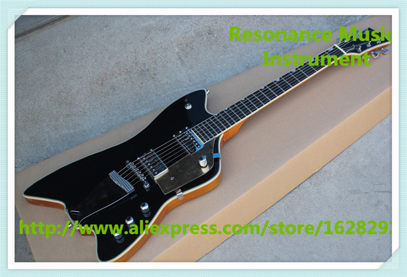 New Arrival Gre.6199 Billy-Bo Jupiter Thunderbird Electric Guitar In Black Color For Sale In stock lacywear s 204 gre