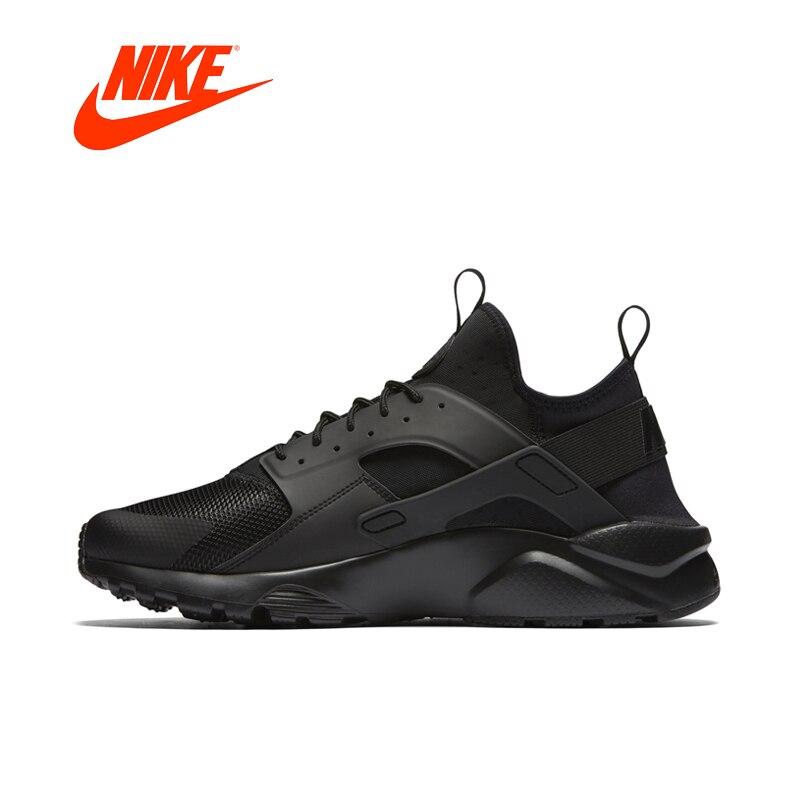 Оригинал Новое поступление Официальный NIKE AIR HUARACHE RUN ULTRA мужские кроссовки 819685 открытый ультра повысить спортивные