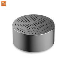 Oryginalny Xiaomi Bluetooth przenośny głośnik z zestaw bezprzewodowy mikrofonu głośnik metalowy stali Stereo