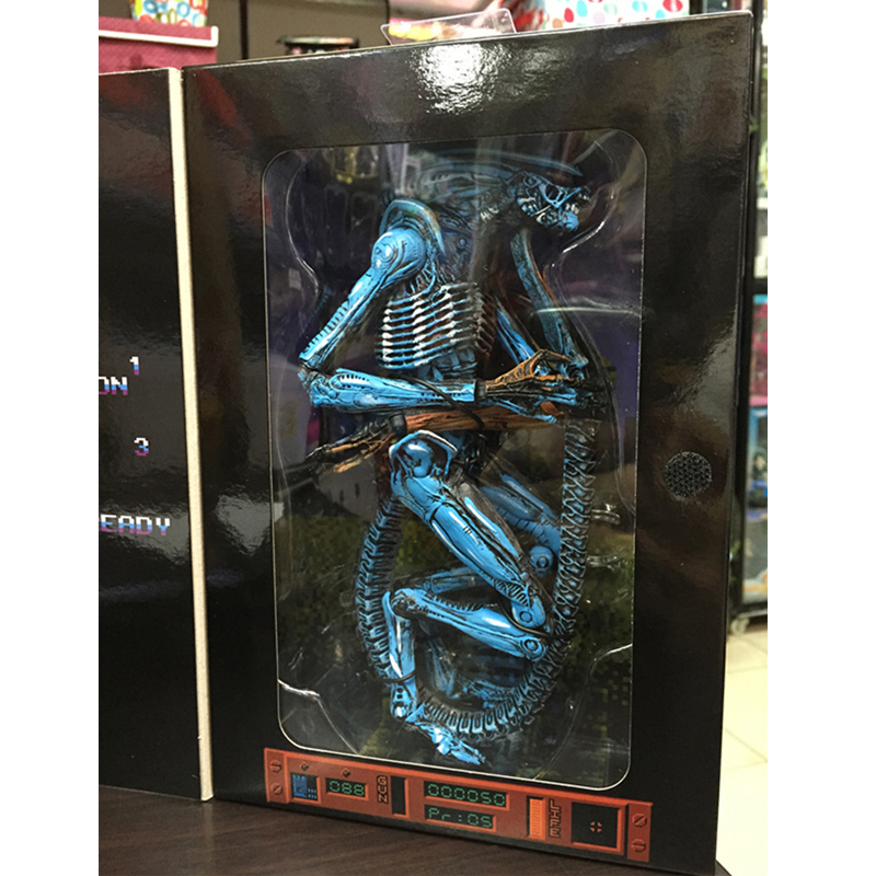 NECA Alien 3 Dog Alien PVC Action Figure Collectible Model Toy 18cm KT260 neca alien lambert compression suit aliens defiance xenomorph warrior alien pvc action figure collectible model toy 18cm