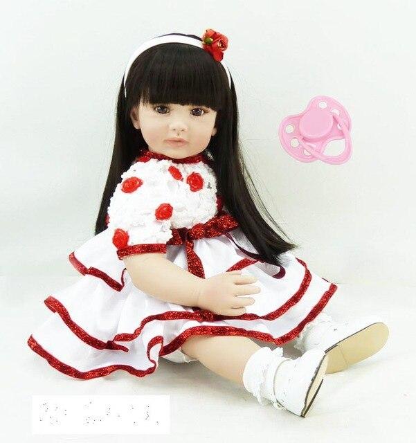 60cm Silicone Vinyl Reborn Baby Doll Toy Life