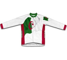 Algeria Flag Winter thermal fleece Cycling Jerseys Men winter cycling clothing  Ciclismo Maillot Cycling Clothes
