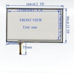 ZhiYuSun QR4 3904S06 164mm * 99mm o touchsensor Compatível vidro Da Tela de Toque 164 * 99for GPS DO CARRO