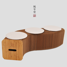European style living room table chair children's low stool folding  Huanxie plant new environmentally friendly furniture