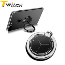 Twitch Finger Ring Mobile Phone Smartphone Stand Holder For iPhone 7plus Samsung HUAWEI Smart Phone IPAD MP3 Car Mount Stand