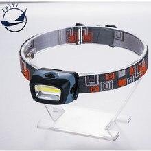 [TAIYI] COB Portable Mini Plastic Headlamp LED Flashlight for Camping,Running,Hiking,Reading, 3 Modes LED Headlamps