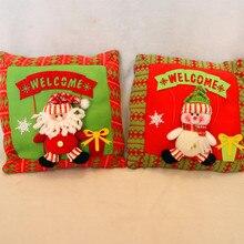 New Arrival Cartoon Christmas Decorative Snowman/Santa Clause Pillow for Sofa Christmas Seat Cushion Decoration For Home Decor