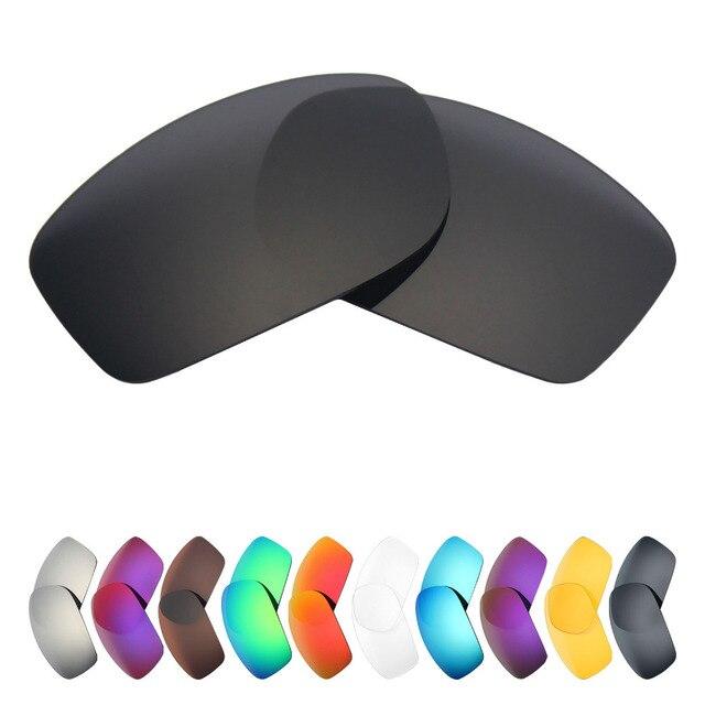 HKUCO Mens Replacement Lenses For Oakley Whisker Red/24K Gold/Titanium Sunglasses EOYdf