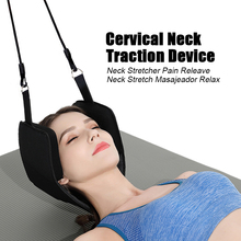 Neck Massage Support Hammock Cervical Traction Device On Door Cervical Neck Stretcher Pain Releave Neck Stretch Masajeador Relax cervical repositioning sense in subjects with non specific neck pain