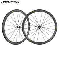700c carbon wheelset 38mm carbon clincher road bike wheels UD Matte Basalt braking surface