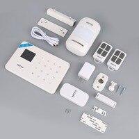 KERUI G18 TFT Touch GSM Alarm Wireless IOS Android APP Control Home Burglar Security Protection Alarm