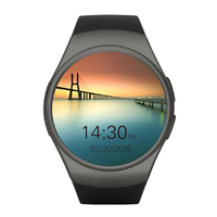 Heart Rate Monitor KW18 Clock Smart Watch Bluetooth 4.0 Smartwatch MTK2502C Siri & Gesture Control For iOS Android Phones