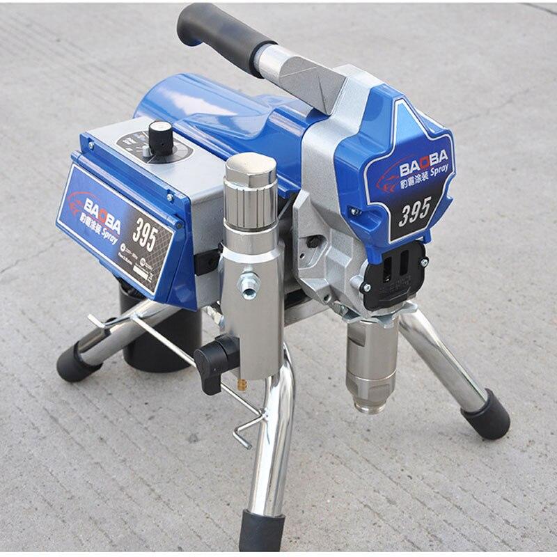220V Electronic regulator High Pressure Airless Spraying Machine Spray Gun Wall Paint pro high pressure airless paint spray gun machine power paint tools supplies