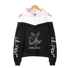 Lil Peep Hip-Hop Hoodies Sweatshirt Vrouwen Emo Rapper Cry Baby Gedrukt Plus Maten Voor Casual Fleece Streetwear