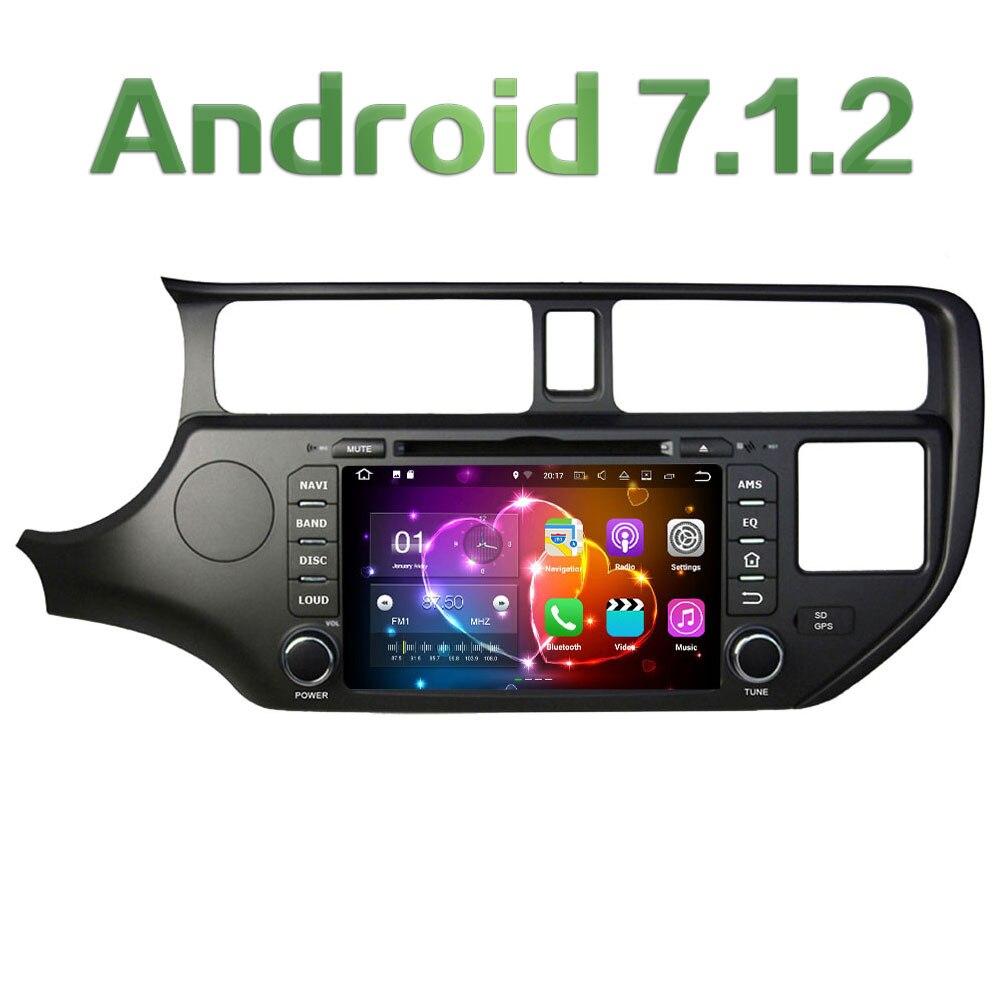 Android 7 1 2 8 Quad Core 2GB RAM 3G 4G WIFI DAB SWC Car DVD