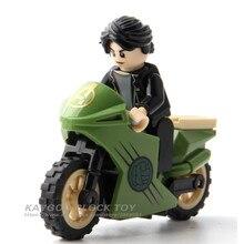 Мстители Бесконечность войны Тор муравей солдат супер герой Брюс Баннер мотоцикл Скарлет фигура Строительные блоки игрушки для детей