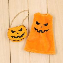 Neo Blythe Doll Halloween Pumpkin Clothes
