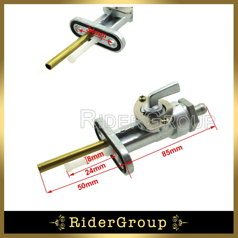 US $10 72 |Gas Fuel Petcock Tap Valve Switch For Yamaha AT1 AT2 AT3 CT1 CT2  CT3 DT1 DT100 DT125 DT175 DT1MX DT1S DT360 Pit Bike Motorcycle-in