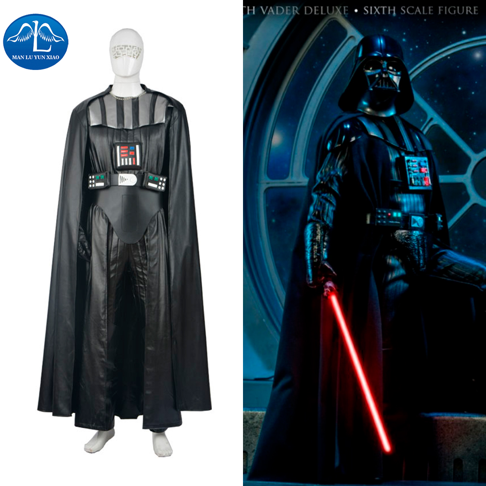 online shop manluyunxiao newest halloween party cosplay costumes darth vader costume star wars darth vader costume adult aliexpress mobile - Halloween Darth Vader