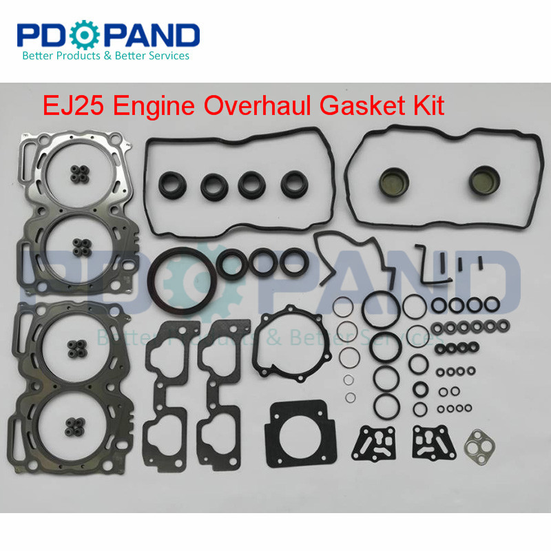 EJ25 Engin Complete Gasket Set 10105AB160 For SUBARU Forester SH 2.5XS 2010/SG 2.5XT/Legacy 2.5I /Outback 2.5I