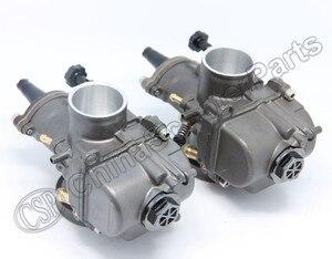 Image 4 - PWK PWK34 Carburetor 34 34MM Dual Set For Yamaha XS650 Keihin Carb