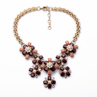 Hot Selling Red Bean Party Type Necklace