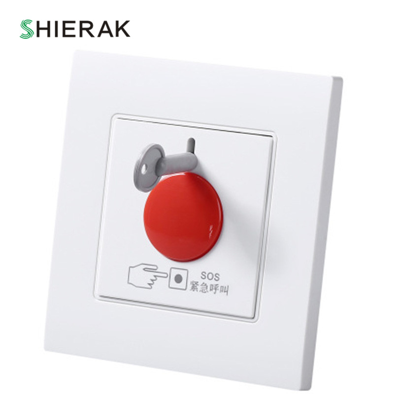 SHIERAK SOS Emergency Call Switch Home Fire Emergency Alarm Button 86*90mm ...