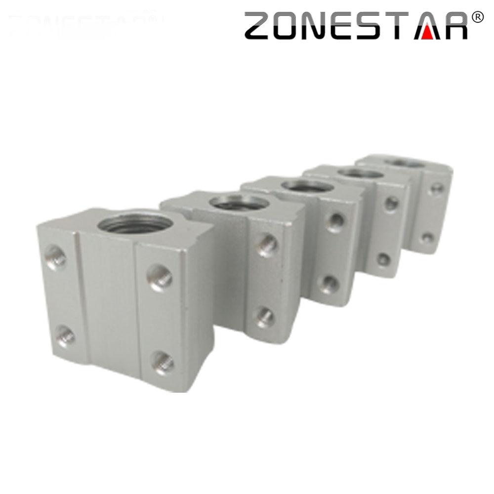 ZONESTAR 5 Stks / partij SCS8UU 8mm Lineaire Kogellager Blok CNC - Office-elektronica