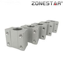 ZONESTAR 5PCS lot SCS8UU 8mm Linear Ball Bearing Block CNC Router 3D printer DIY Kit Accessories
