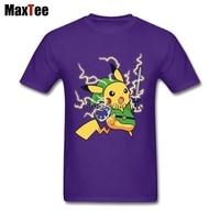 Legends of Zelda Pokemon T-shirt Mannen Jongen Ontwerp Korte Mouw Thanksgiving Dag Custom Plus Size Team Pikachu T-shirts