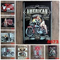 20X30 cm/ Vintage Motorcycle GARAGE GAS ONLINE antique retro metal tin signs Iron painting crafts vintage home wall decoration