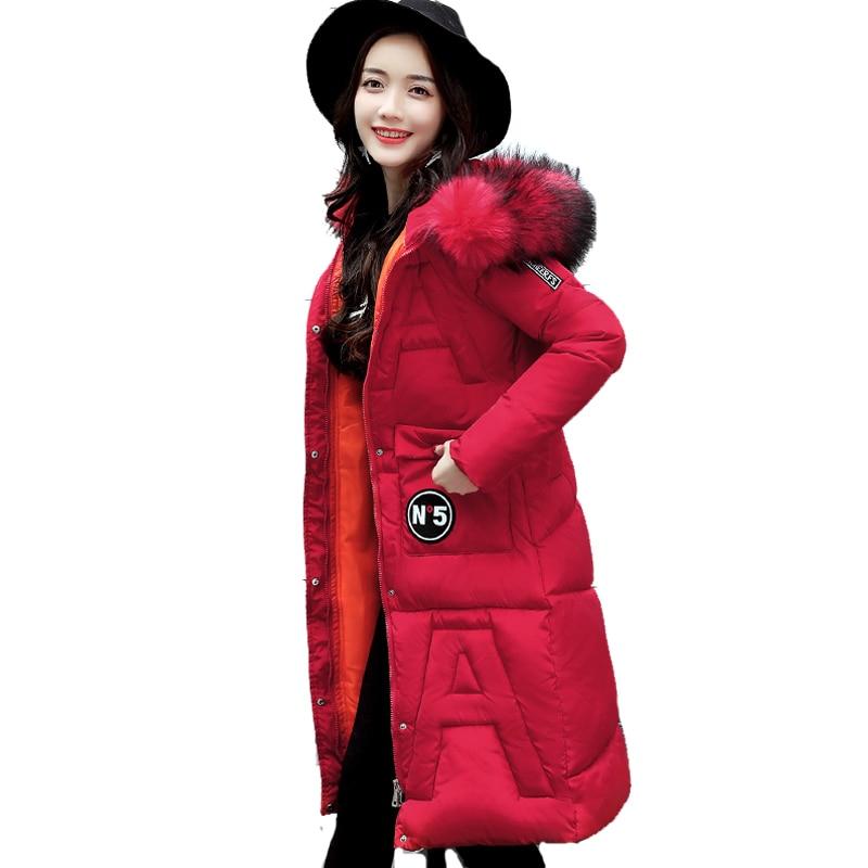 2017 Long Thicken Hooded Womens Coat Parka Warm Outerwear Casaco Feminina Inverno Female Women Winter Jacket Women