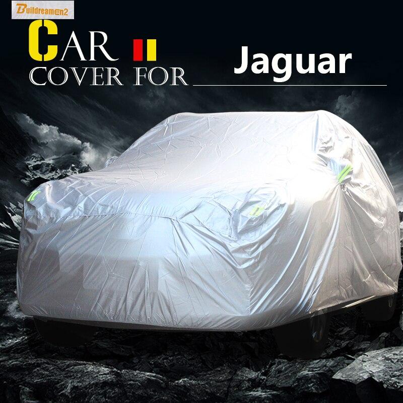 Buildreamen2 Car-Cover Jaguar Outdoor Sun-Snow Scratch-Resistant Waterproof Rain Anti-Uv