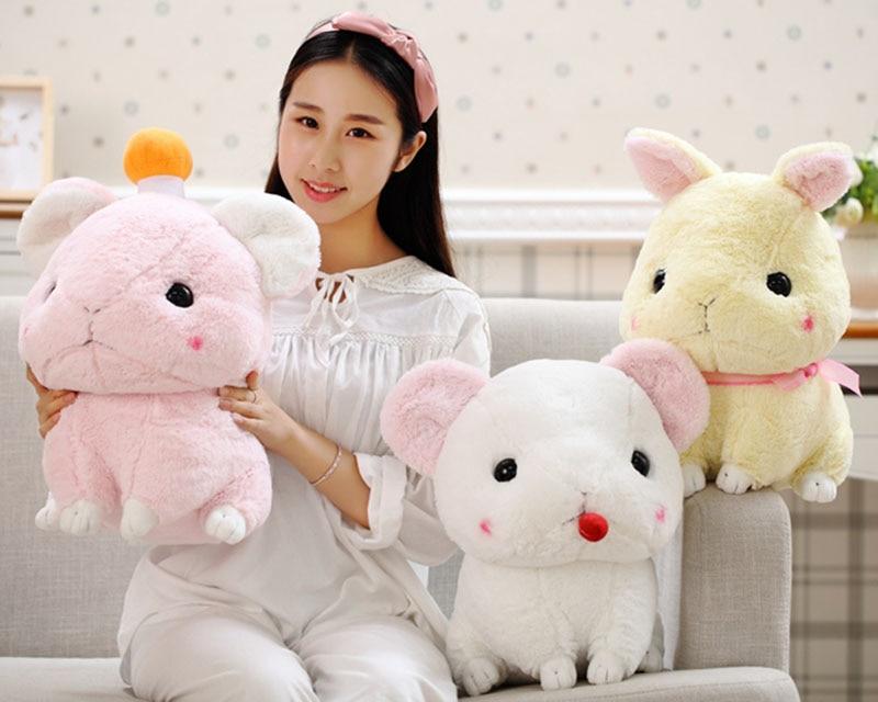 30cm 40cm kawaii rabbit plush toy rabbit doll stuffed animals kids toys pink white,pink gift for her birthday high quality