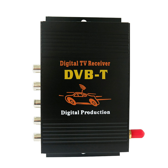 DVB-T MPEG-4  Digital TV receiver Single tuner Digital TV receiver Box 140-190km/h For Europe/Australia/New Zealand/Israel