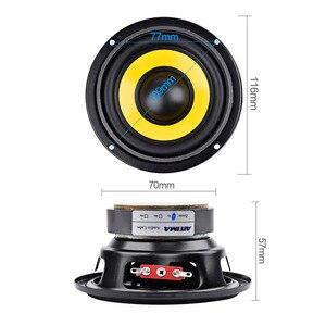 Image 3 - AIYIMA 2Pcs 4 inch Woofer Audio Speaker Portable Mini Stereo Speakers SubWoofer Full Range Car Horn Loudspeaker 4 Ohm /8Ohm 20W