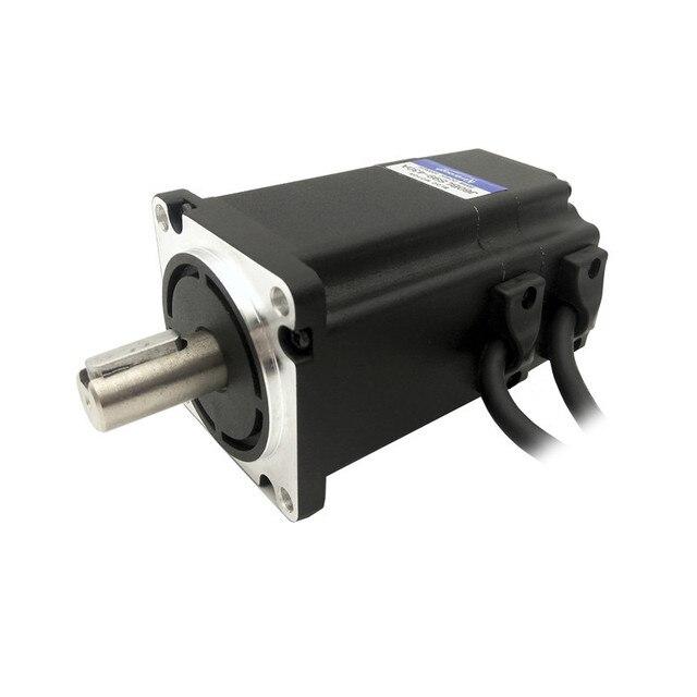 BL DC motor flanş 60mm 48V 3000RPM 200W 0.65N.m J60BLS99 430A fırçasız DC Motor 3 fazlı gövde uzunluğu 99mm