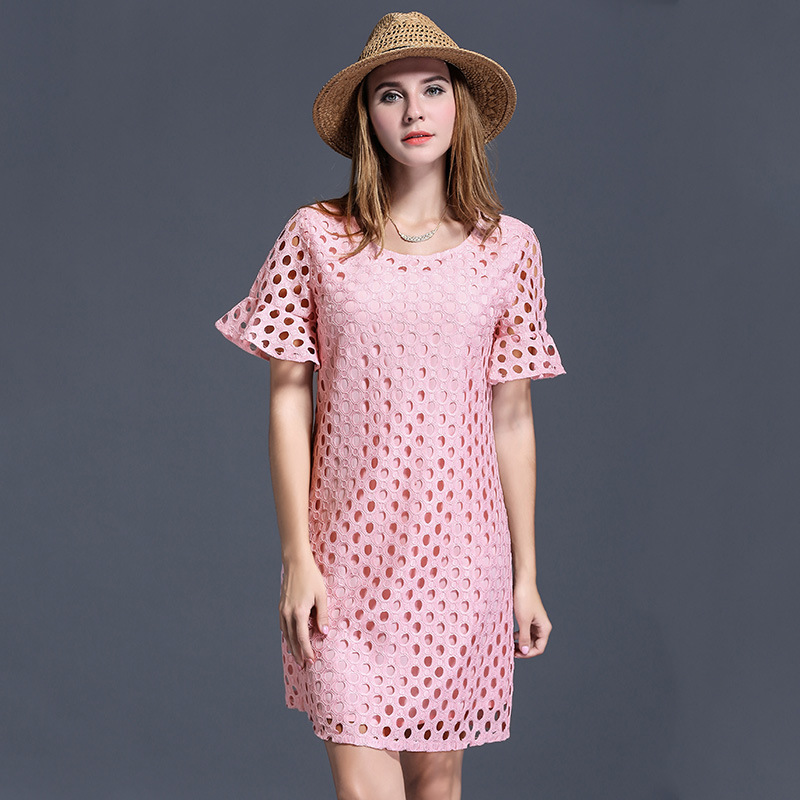 product 2016 large size women size summer new add fertilizer increased fat MM dress code wholesale trade