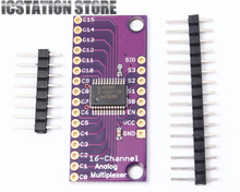 CD74HC4067 Analog Digital MUX Breakout Board Compatible Arduino With Pin Header
