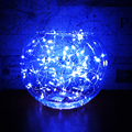 2-4M Led String Lights Magic Blue Color Copper Wire Material Wedding Chirstmas Party Home decor Power consumption Fast Ship TR